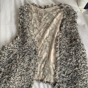 Free People Faux Fur Away Vest